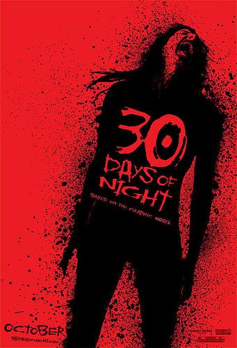 El primer nuevo cartel de 30 Days of Night